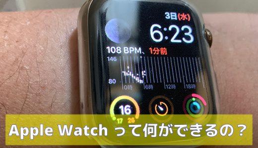 必見!Apple Watchで何ができるの?( 特徴・活用方法など)